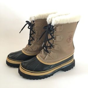 Sorel Kaufman Caribou Winter Boots Made in Canada